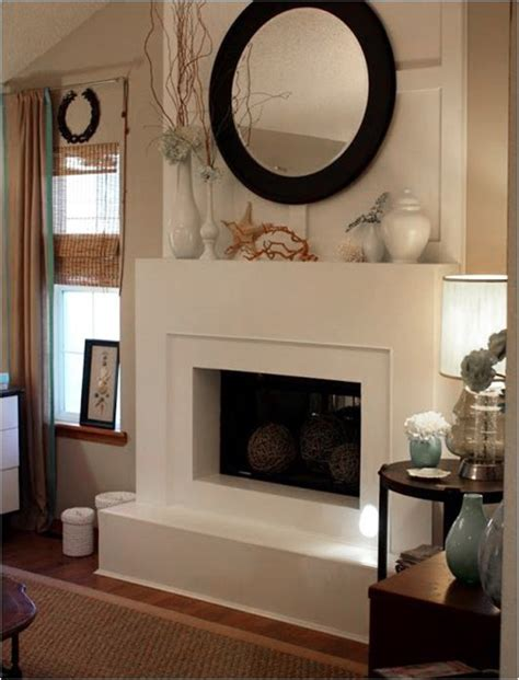 contemporary fireplace ideas centsational