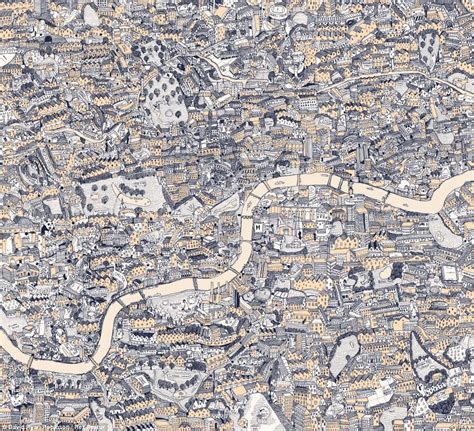 Drawing K Maps by David Robinson Artist Spends Hundreds Of Hours Drawing