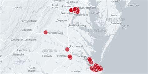 red light cameras virginia virginia red light cameras interactive map of locations