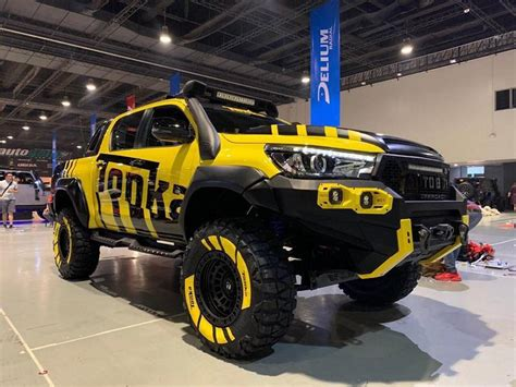 formacar toyota hilux     reimagined