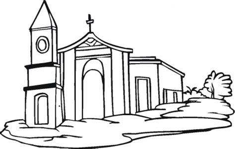 imagenes de una iglesia para colorear image gallery iglesia para dibujar