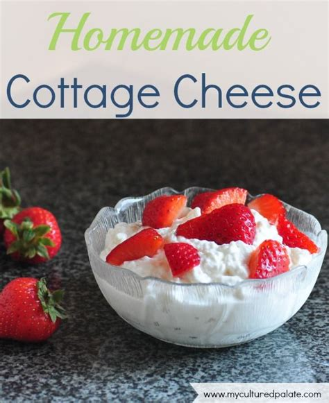 cottage cheese recipe cottages homemade and cottage