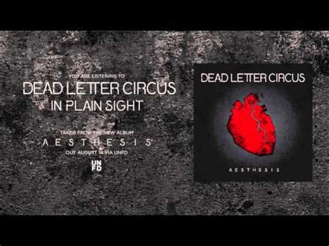 In Plain Sight Dead Letter Circus
