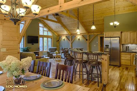 Golden Eagle Log Homes Log Home Cabin Pictures Photos A Frame Open Concept House Plans