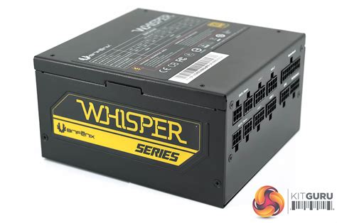 Bitfenix Whisper 850w Gold bitfenix whisper m series 850w psu review kitguru