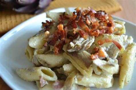 cucinare la pasta con il bimby pasta con carciofi e pancetta bimby tm31 tm5