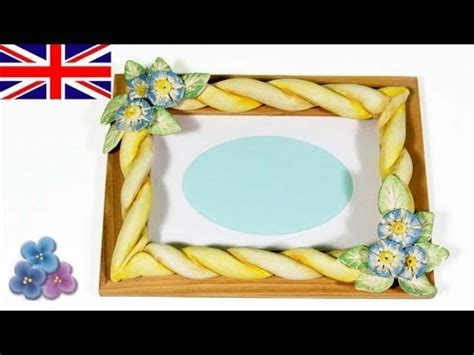 photo crafts for how to make picture frames with modeling clay diy gifts