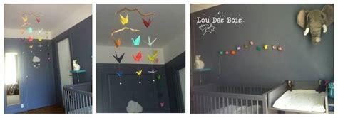 guirlande lumineuse chambre bebe lou des bois origami une chambre pour un b 233 b 233