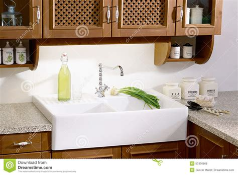 country style kitchen sink country style kitchen sink stock photo image 57376669