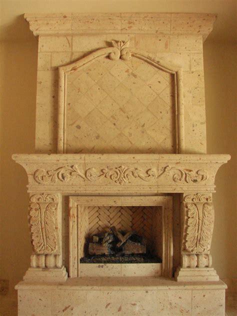 cantera fireplace casa de cantera
