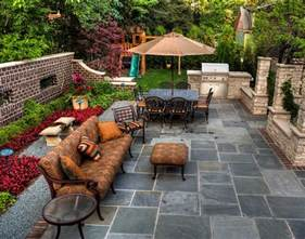 Backyard Patio by Patio Cost Landscaping Network