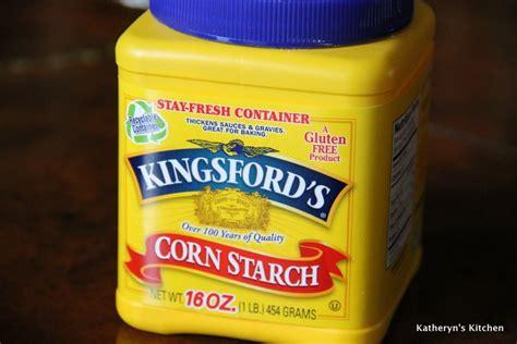 katheryn s kitchen is cornstarch gluten free
