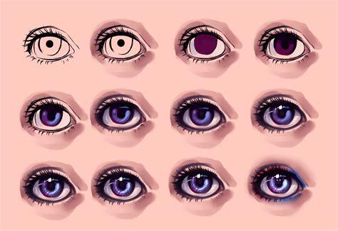 paint tool sai realistic eye tutorial eye tutorial by ryky on deviantart