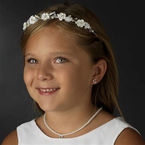 Bluebell Flower Bridal Headband   Elegant Bridal Hair Accessories