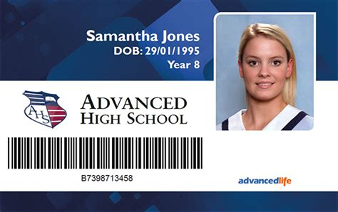 School Id Card Design