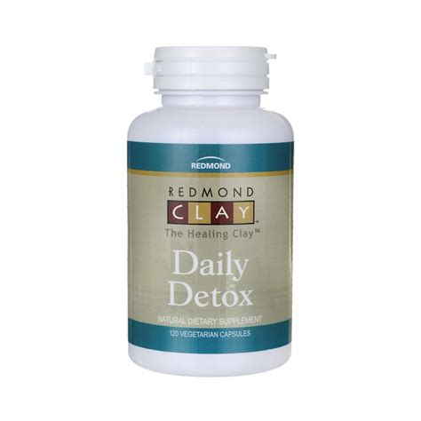 Best Daily Detox by Redmond Clay Daily Detox 120 Veg Caps