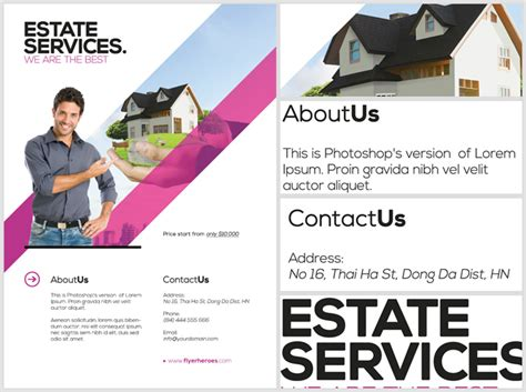 50 best real estate flyer print templates 2017 frip in