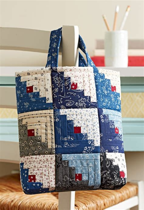 mini log cabin bag allpeoplequiltcom