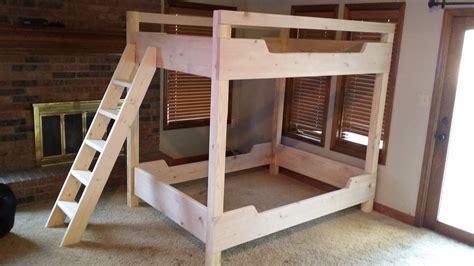 bedroom endearing bunk bed plans   children
