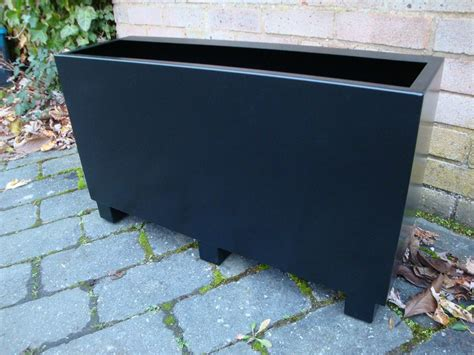 trough planter and boxes for gardens the homy design