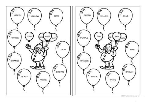 printable coloring pages esl colors worksheet free esl printable worksheets made by