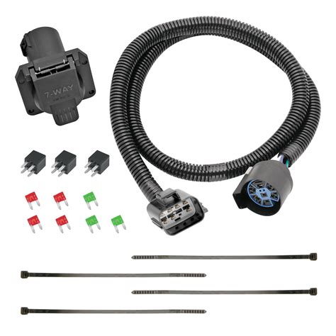 replacement oem tow package wiring harness 7 way
