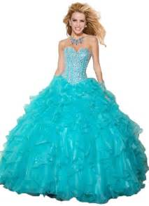 vestidos de quinceañera color aqua pink beaded top gown organza fuschia pink