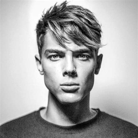 mens same lenght haircut manly hairstyles 100 images 68 amazing side part