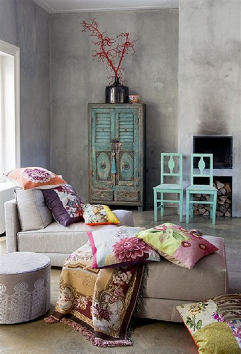 Bohemian Interior Design | 20 amazing bohemian chic interiors