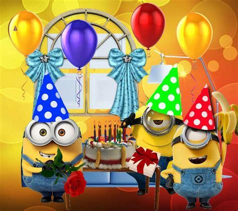 imagenes happy birthday minions pin de maria g en minions pinterest feliz cumplea 241 os