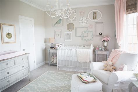 Pink Chandelier For Nursery Gallery Roundup Pink And Gray Nurseries Project Nursery