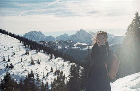 girl mountain tumblr girl hipster landscape mountain mountains image