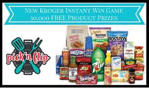 New Instant Win Games - new kroger instant win game 30 000 food drink prizes ftm