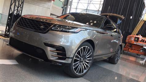 new range rover velar land rover usa 2018 2019 car