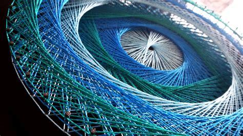 String Mandala - aline cbell string mandalas