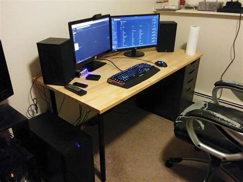 pc gaming desk reddit reddit computer desk best computer desk what are your