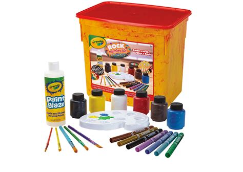 crayola painting rock painting kit crayola crayola