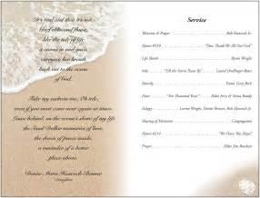 Graveside Funeral Service Outline by Memorial Service Programs Sle Janet Hancock S Funeral Program Inside Memorial Legacy