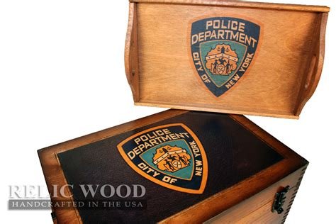 Gifts For Officers by New York Department Keepsake Box