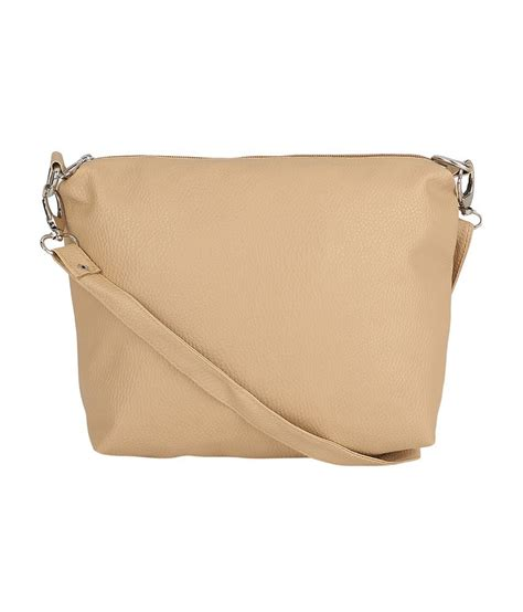 Best Quality Slingbag 2 In1 borse beige faux leather sling bag buy borse beige faux leather sling bag at best