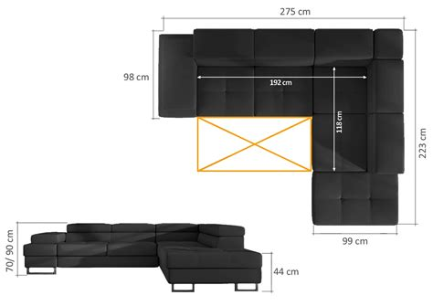 Canape D Angle Modulable 559 by Canap 233 D Angle Design Convertible Fedor En Simili Cuir