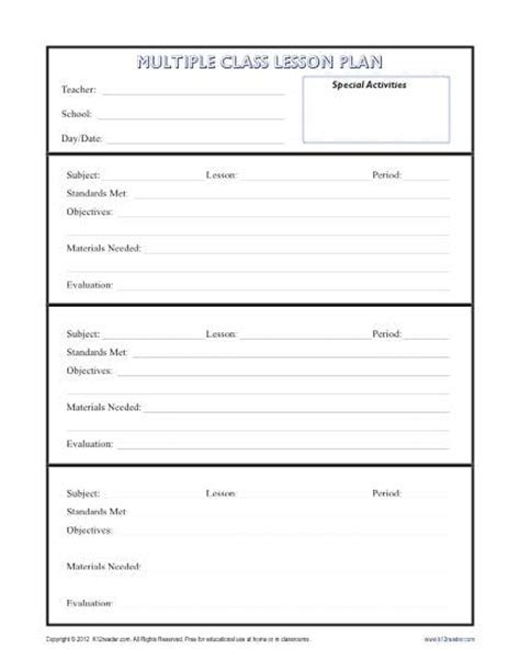 Lesson Plan Template Ofsted Lesson Plan Template Ofsted Approved