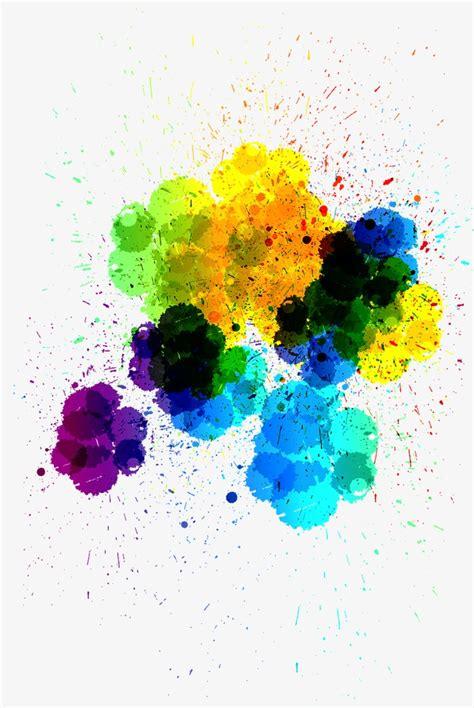 paint colorful colorful paint splatter png www pixshark images
