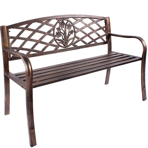 outside metal benches outdoor garden benches metal 25 best ideas about metal
