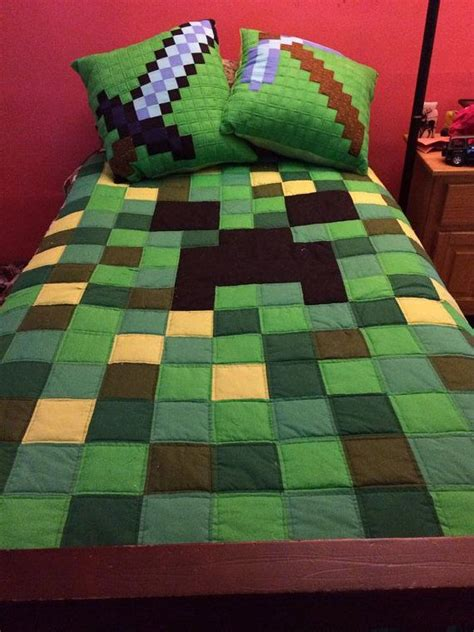 minecraft bedding awesome and boys on pinterest