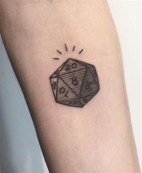 d20 tattoo 17 best images about i d wear that probably on