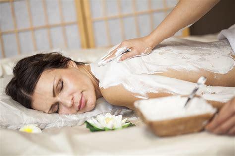 visiting  spa   body mask