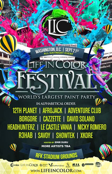 in color lineup in color announces d c lineup raverrafting