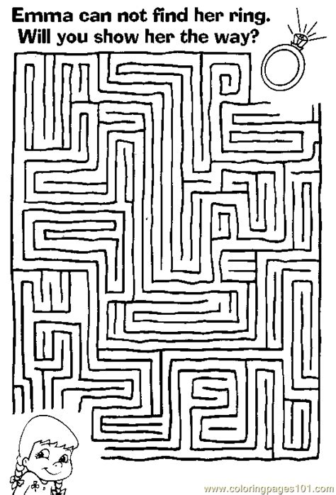 printable barbie maze maze 43 coloring page free mazes coloring pages