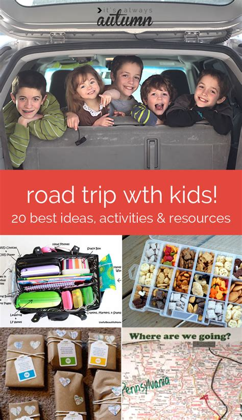 20 best ideas activities and resources for road trips